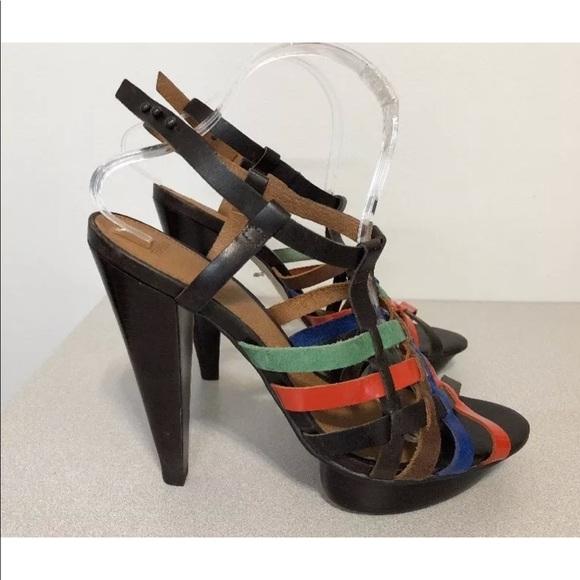 Shoes Size Multi Poshmark Topshop Platform Pumps Leather 6tixg 41 OPkn0w